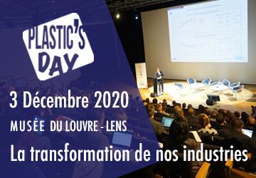 Actualité sur le Plstic's Day le 3 Décembre 2020
